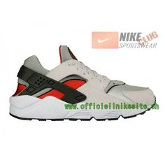 info for 80684 440ff Nike Air Huarache - Chaussure Nike Sportswear Pas Cher Pour Homme Blanc/Rouge  318429-002,Nike Air Huarache,Nike Air Huarache Pas Cher,Nike Sportswear,Nike  ...