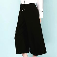 Shalena High Waist Wide Leg Pants  http://shalena.ca #women #fashion #dress #shoes #coat #accessories #love #life #american #canadian #australia #newzealand #uk #england #france #germany #spain  #latestfashion #beautiful #happy #pretty #colorful #sweet #bestquality #shopping #womenfashion  #followforfollow #follow4follow #f4f #ifollowback