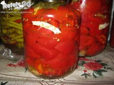 Gogoşari in oţet Stuffed Peppers, Vegetables, Food, Stuffed Pepper, Essen, Vegetable Recipes, Meals, Yemek, Stuffed Sweet Peppers