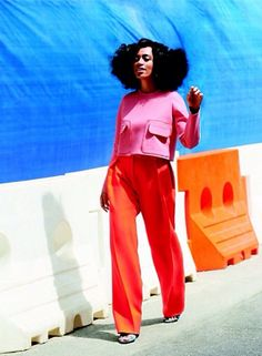 Solange for Lucky