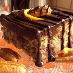 Karydopita csokival és olívaolajjal Twix Cookies, Best Pubs, Food Photo, Street Food, Bakery, Dinner, Eat, God, Recipes