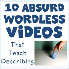 "I love using video in speech therapy. There are so many uses of video when students or clients struggle to describe, explain, or answer Wh-questions. Another fun way to spark conversation is to use ""absurd images."" Showing a student a picture of something that could not be real is a great way to get them …"