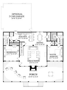 Cabin Style House Plan 2 Beds 2 Baths 1665 Sq Ft Plan 137 295