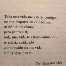 Toda una vida. ❤