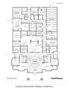 Dog Boarding Kennel Plans | January 2012—Cleveland Park Animal Hospital; Greenville, S.C.