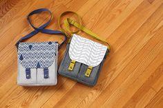 Campfire Messenger Bag Pattern - Noodlehead