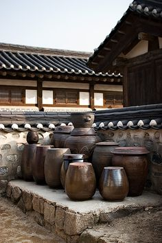 Namsangol Hanok Village, Seoul, South Korea. 2007 (by kevinlamphoto)