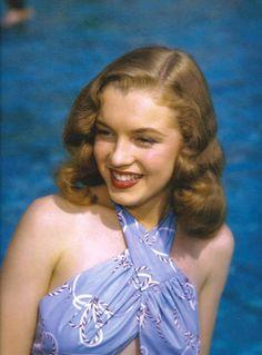 Marilyn Monroe photographed in 1946 © Richard Miller.