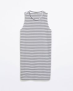 Image 6 of STRIPED COTTON DRESS from Zara