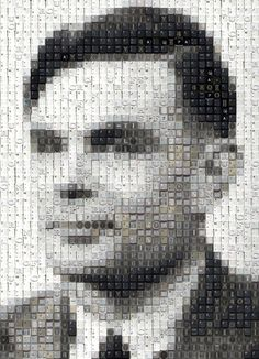 Alan Turing by WBK
