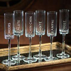Celebration Champagne Flute Set