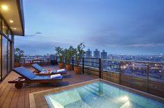Luxus Penthouse mit Pool und faszinierender Aussicht