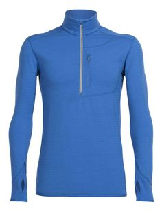 A technical midlayer designed to insulate and breathe during cold, high-output days up in the mountains, out on the slopes or on the trails, the Men's Descender Long Sleeve Half Zip is designed for those on the move. Made with our 240gm textured terry corespun fabric, which uses nylon fibers wrapped in merino wool for added durability and quicker drying, the Descender features a high-loft brushed back with heat-trapping channels to help regulate your temperature during technical…