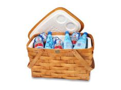 Insulated Picnic Basket Cooler.
