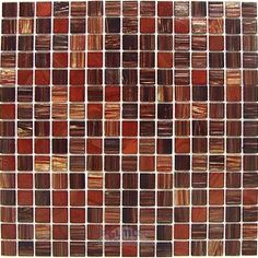 red glass kitchen tile - Google Search