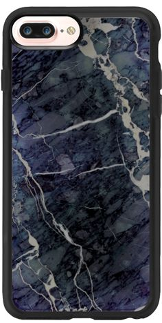 Casetify iPhone 7 Plus Classic Grip Case - Blue Stone Marble by Marblous #Casetify