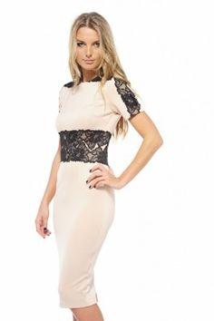 Lace Quarter Dress at shopmodmint.com