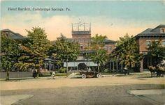 1914 Cambridge Springs PA Hotel Bartlett