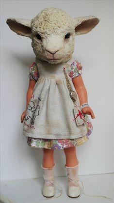Annie Montgomerie sheep