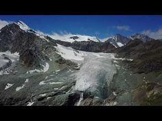 4k Drone Video of the Saastal in Switzerland (2017) - YouTube Saas Fee, Switzerland, Mount Everest, Hiking, Mountains, Youtube, Travel, Rose Bush, Walks