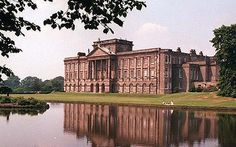 Lyme Park, Cheshire, known for being the location as Pemberley in the Pride and Prejudice 1995 movie version. Another location, Sudbury Hall, was actually used for the interior shots.