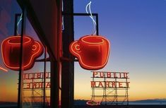 Seattle Coffee Art Print by Inge Johnsson. All prints are professionally printed, packaged, and shipped within 3 - 4 business days. Choose from multiple sizes and hundreds of frame and mat options. Coffee Art, Coffee Shop, Coffee Cups, Coffee Drinks, Coffee Time, Seattle Homes, Downtown Seattle, Seattle Photography, Coffee Photography
