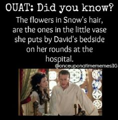 Ouat Did you know--- snow bells? Best Tv Shows, Best Shows Ever, Favorite Tv Shows, Movies And Tv Shows, Once Upon A Time Funny, Once Up A Time, Between Two Worlds, Outlaw Queen, Captain Swan