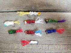 Handmade Handtied Custom Crappie Panfish Fishing Jigs - Gifts for Dad Father\'s Day Boyfriend Grandpa Fisherman Grandpa. $0.75, via Etsy.