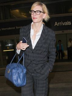 Cate Blanchett's airport outfit