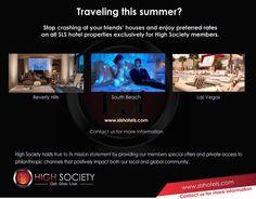 High Society Hotel Offer - http://slshotels.com/