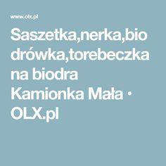 Saszetka,nerka,biodrówka,torebeczka na biodra Kamionka Mała • OLX.pl