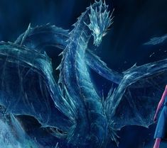 Photo of Blue Dragon for fans of Soul-Dragneel.