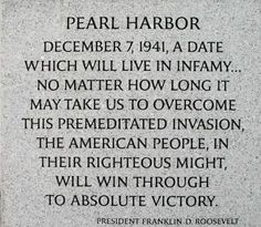 "A little bit of information regarding ""Pearl Harbor Day"". What happened on December 7 The attack on Pearl Harbor [nb was a surprise military strike conducted by the Imperial Japanese Navy . Pearl Harbor Day, Pearl Harbor Attack, Pearl Harbor Quotes, Pearl Harbor History, Pearl Harbor Memorial, World History, World War Ii, December 7 1941, Remembrance Day"