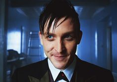 Robin Lord Taylor as Oswald Cobblepot from Gotham
