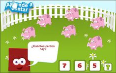 Cuenta animales Family Guy, Digital, Kids, Character, 4 Years, To Tell, Interactive Activities, Projects, Pigs