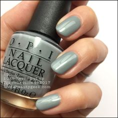 OPI I Can Never Hut Up_OPI Fiji Collection Swatches Review 2017