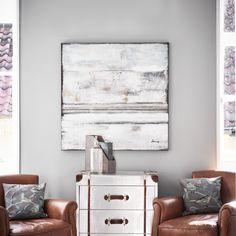 Abstract 'Triade' Acrylic On Canvas