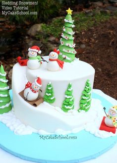 Christmas Themed Cakes Pictures.659 Best Christmas Party Cakes Sweets And Inspiration