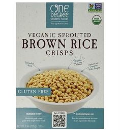 One Degree Organic Foods Odof Brown Rice Crisp (6x8 Oz)
