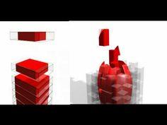 Voxelisation vs. Slice Data Animation Comparison of 3D Printing Methods