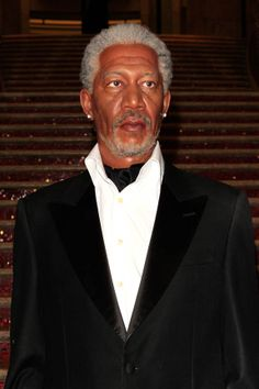 Morgan Freeman Museu Madame Tussauds de Hollywood Madame Tussauds, Stepping Out, Cultura Pop, Suit Jacket, Hollywood, Suits, Fashion, Museum, Moda