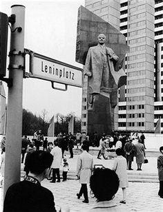 Berlin 1970 Leninplatz