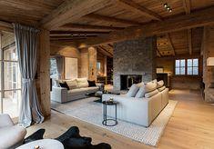 chalet near Kitzbühel Alpine Chalet, Ski Chalet, Steam Bath, Cladding, Contemporary Design, Cabin, Flooring, Interior Design, Building