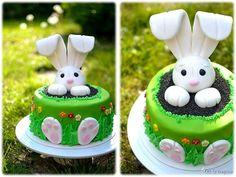 Layer cake Lapin de Pâques