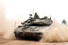 Merkava Mk 3D in Gaza Strip