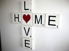 Hey, I found this really awesome Etsy listing at https://www.etsy.com/listing/150753286/large-scrabble-letters-home-sign-love