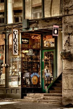 Seattle Cigar Shop II Photograph