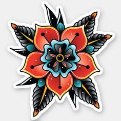 Traditional Tattoo Woman, Traditional Tattoo Flowers, Traditional Tattoo Design, Neo Traditional Roses, Traditional Tattoo Stickers, Traditional Tattoo Sleeves, Traditional Tattoo Flash, Cover Up Tattoos, Leg Tattoos