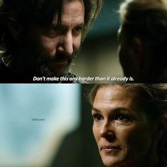 "#The100 3x09 ""Stealing Fire"" - Kane and Abby"