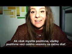 Mladá dievčinka pekne a jednoducho rozpráva o šťastí. Mindfulness Meditation, Believe In You, Relax, Youtube, Youtubers, Youtube Movies